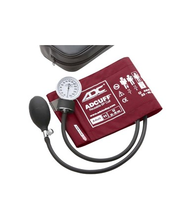 Prosphyg™ 760 Series Pocket Aneroid, Adult, Burgundy