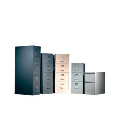 700 Series Vertical File Cabinets with Drawer Options ADE702L-