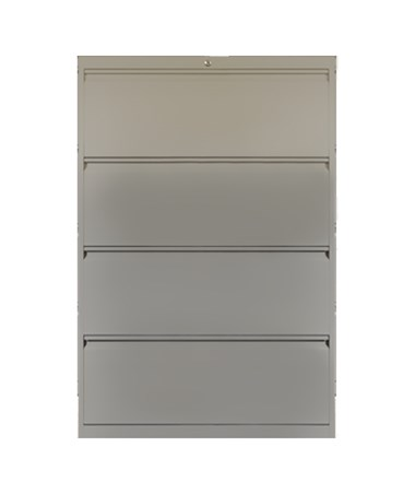 ADE802-30L- 800 Series Lateral File Cabinets with Drawers - 4 Drawers
