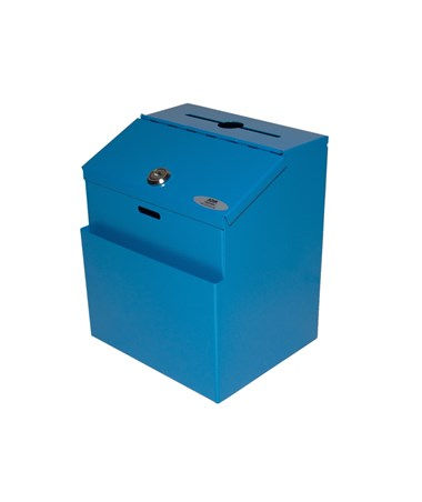 Steel Sugestion Box - Blue ADI631-01-BLU