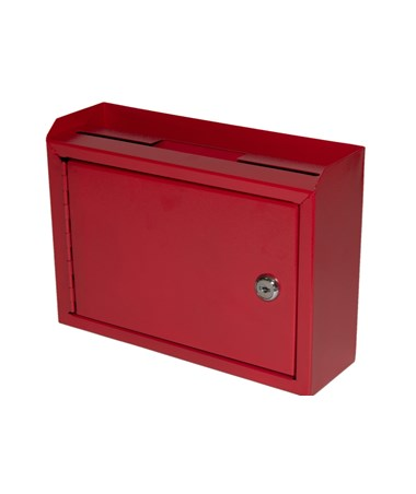 Deluxe Steel Drop Box Red -