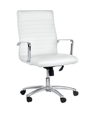 White Lux Executive Chair
