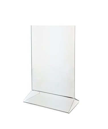"Upright Frame Top-Loading Acrylic Sign Holder 5"" x 7"" ADI639-57-3-TL-"