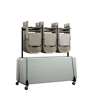 AdirOffice Chair & Table Combo Cart ADI690-01