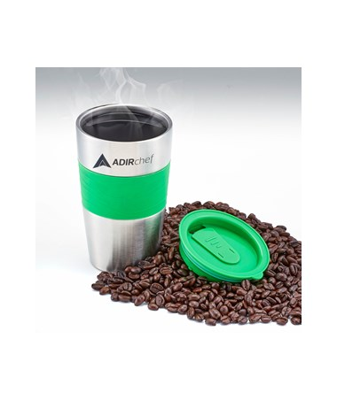 All Stainless 15-oz Travel Mug - Green