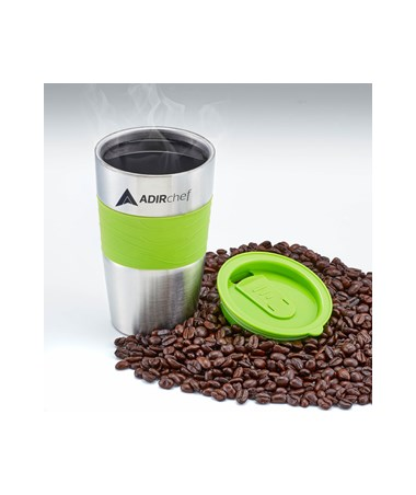 All Stainless 15-oz Travel Mug - Sour Green