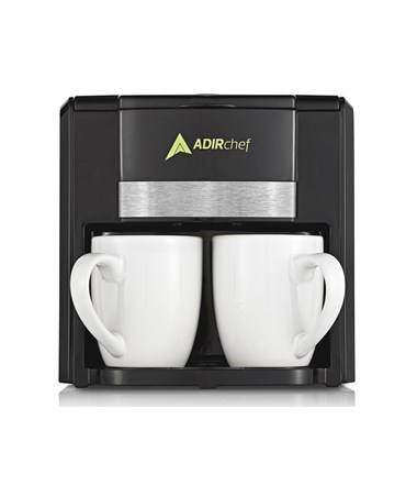 """BFF"" Coffee Maker for Two ADI800-02-BLK"