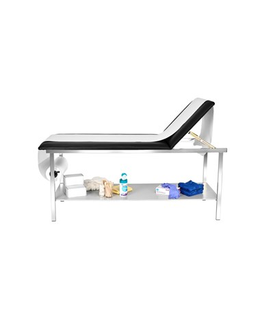 AdirMed Adjustable Treatment Table with Full Shelf