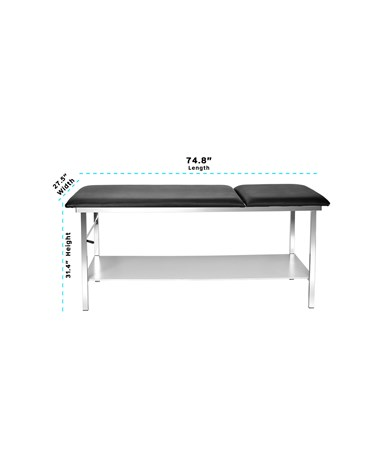 AdirMed Adjustable Treatment Table with Full Shelf Size