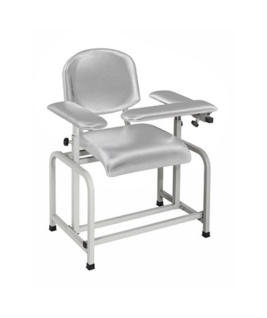 AdirMed Padded Blood Drawing Chair - Grey, Main