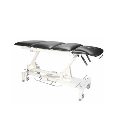 AdirMed Caterpillar Therapy Table with 6 Section Top - Black