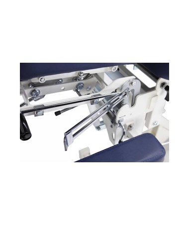 Chiroma Chiropractic Table with 8 Section Top - Blue