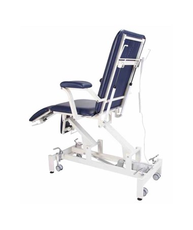 AdirMed Multima Multi-Purpose Mobilization Table with 6 Section Top - Blue