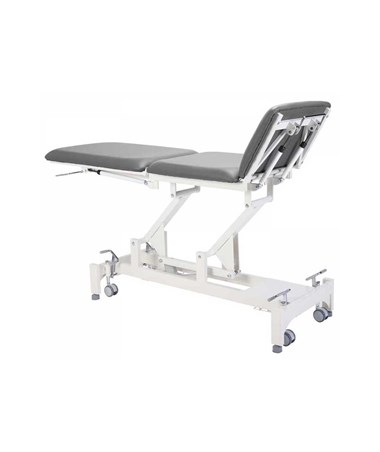 AdirMed Tristar Treatment Table with 3 Section Top - Grey