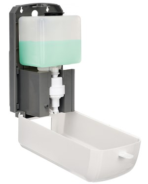Alpine Automatic Hands-Free Liquid Spray Soap & Hand Sanitizer Dispenser