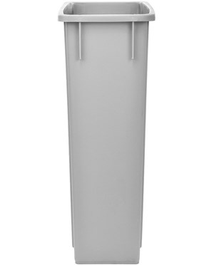 Alpine Industries 23-Gallon Slim Trash Can - side