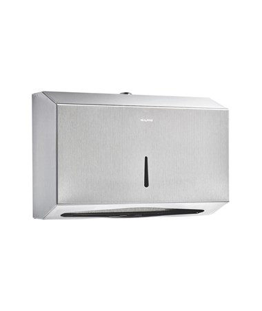 C-Fold/Multifold Paper Towel Dispenser, Stainless Steel Brushed ALP481S