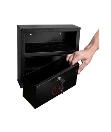 Quick Clean Cigarette Disposal Bin ALP490-02-BLK