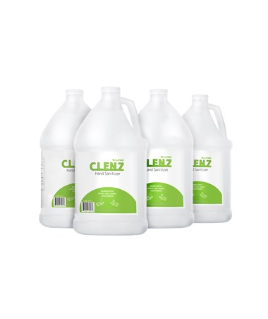 CLENZ 1 Gallon/128 oz Instant Hand Sanitizer- 4/Case ALPC-1