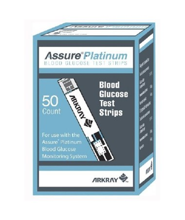 Arkray USA 500050 Assure Platinum Test Strips for Assure Platinum Blood  Glucose Meter