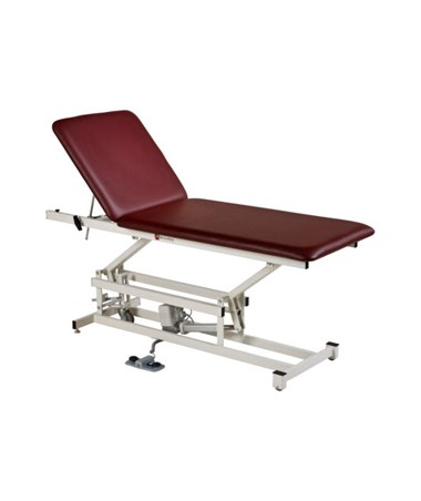 AM-Series Hi-Lo Treatment Table with Two Section Top & Optional Caster System ARMAM1227-