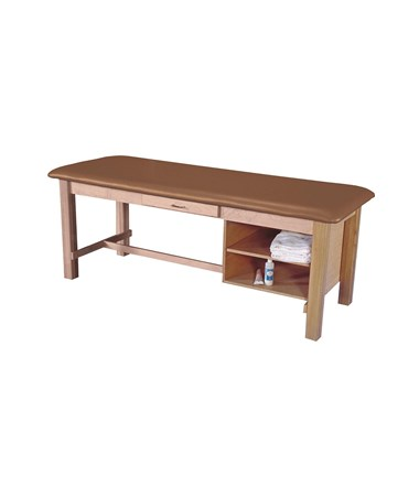 Wood Treatment Table with Drawer & Adjustable Shelf ARMAM608