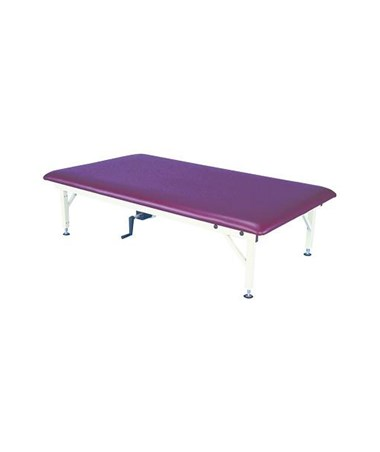 ARMAM642- Manual Hi-Lo Mat Treatment Table - One Piece Table