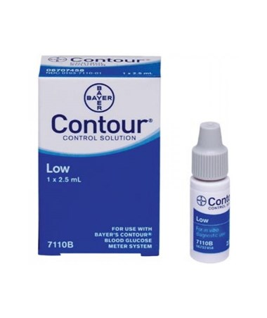 Ascensia Diabetes Care Contour® Control Solution ASC7110-