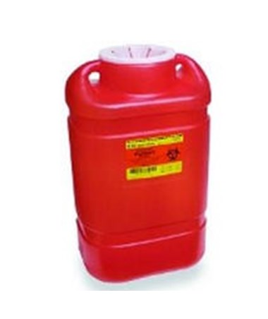 Multi-Use One Piece Sharps Collectors 5 Gal - Open Top - 8 per Case