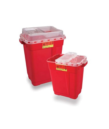BD Extra Large Sharps Collector with Slide Top BD305616-1