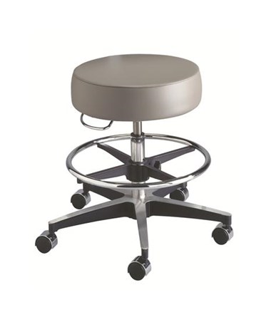 """Brewer 11001FR Century Exam Stool w/o Back Rest with Foot Ring"""