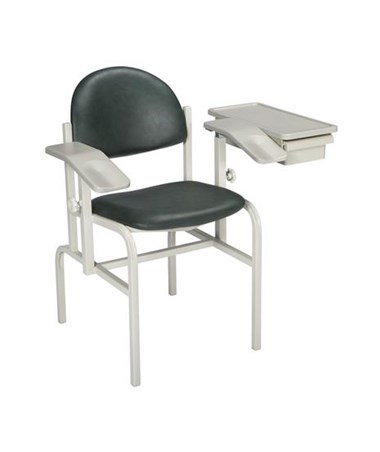 """Brewer 1500 Blood Drawing Chair with Drawer"""