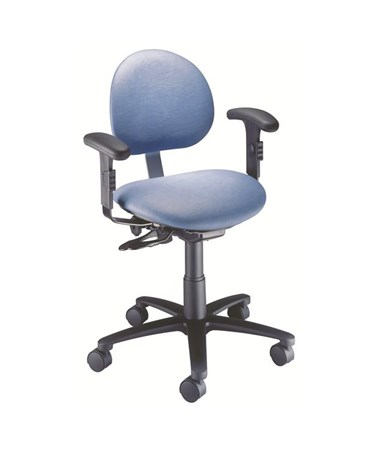 """Brewer 21435 Ergonomic Task Stool with Arm Rest"""