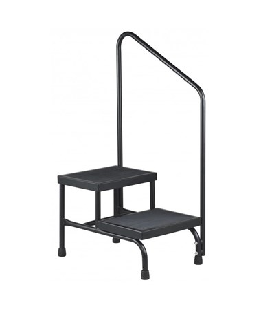 Two-Step Step Stool BRE31220- with handrail