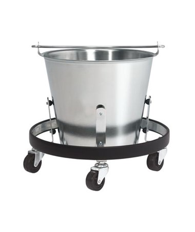 Stainless Steel Kick Bucket w/Frame
