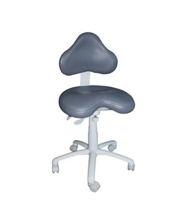 Brewer 9200 Series Dental Stool with Stitched Upholstery