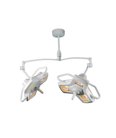BRTA100SC- AIM-100® Series Surgical Light - Double Ceiling Mount