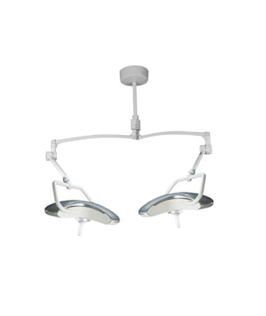 BRTALEDSC- AIM LED Series Examination Light - Double Ceiling Mount