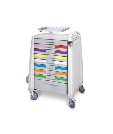 Avalo Pediatric Crash Cart CAPAM10MC-PEDCRASH
