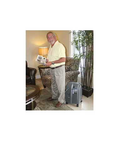 CHR15067013-Companion 5 Stationary Oxygen Concentrator - Home settings