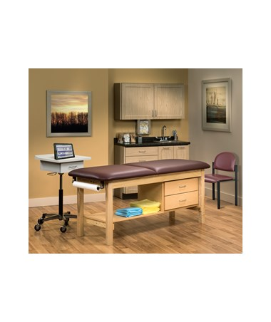 Complete Classic Exam Room Furniture Package - Fashion Finish Ready Room CLI1013-27-RR
