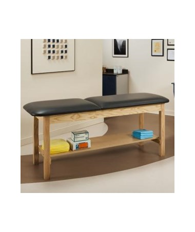 Clinton 1020 ETA Alpha Series Treatment Table with Full Shelf