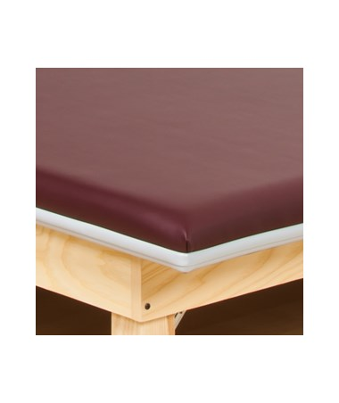 CLI243-47- Wall Mount Folding Mat Platform - Edge bumper guard