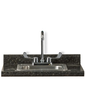 Clinton Postform Countertop w/ Sink - Meteorite