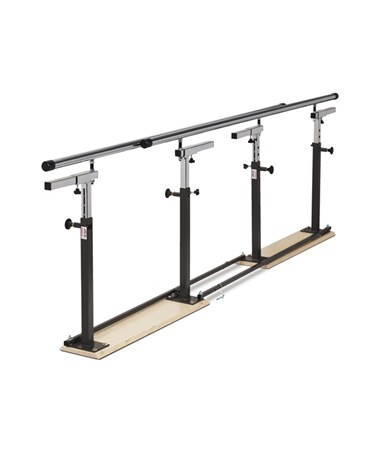 Clinton Industries Folding Parallel Bars, Folded