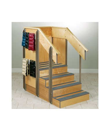Clinton Industries Staircase Storage Island, 4-8020