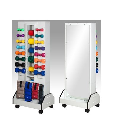 Vanguard Series Celestial Dual Weight Rack with Mirror