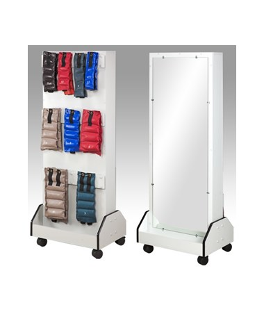 Astro Dual Weight Rack with Mirror