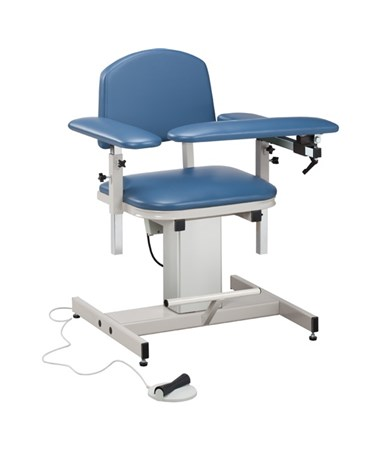 Power Series Blood Drawing Chair with Padded Arms CLI6341