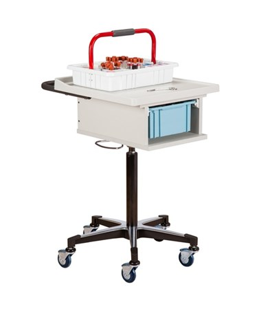 One-Bin Phlebotomy Cart CLI67100